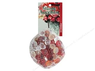 decorative floral: Panacea Decorative Accents Glass Gems Cranberry 12 oz