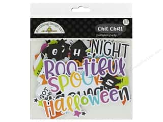 Doodlebug Collection Pumpkin Party Chit Chat