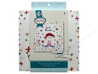 "yarn: Needle Creations Kit Embroidery Canvas 8""x 8"" Just Breathe"
