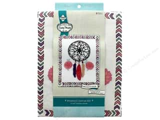 "yarn: Needle Creations Kit Embroidery Canvas 8""x 10"" Dream Catcher"