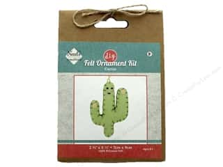Needle Creations Kit Felt Ornament Cactus