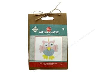Needle Creations Kit Felt Ornament Owl