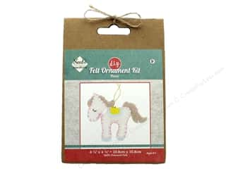 Needle Creations Kit Felt Ornament Pony