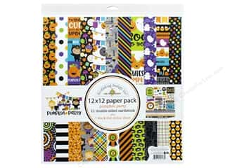 """Doodlebug Collection Pumpkin Party Paper Pack 12""""x 12"""""""
