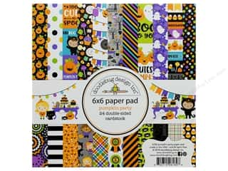 """Doodlebug Collection Pumpkin Party Paper Pad 6""""x 6"""""""