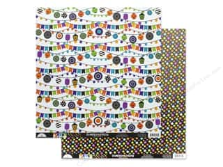 "pumpkins: Doodlebug Collection Pumpkin Party Paper 12""x 12"" (25 pieces)"
