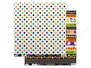 "pumpkins: Doodlebug Collection Pumpkin Party Paper 12""x 12"" Halloween Ball (25 pieces)"