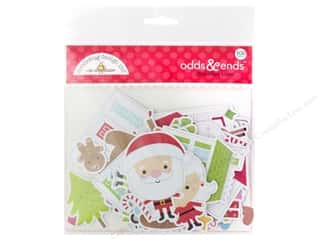 Clearance: Doodlebug Collection Christmas Town Odds & Ends