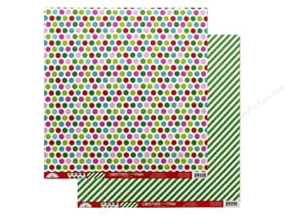 "christmas paper: Doodlebug Collection Christmas Town Paper 12""x 12"" Merry & Bright (25 pieces)"