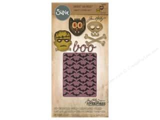 Sizzix Die & Emboss Folder Tim Holtz Sidekick Side Order Set Halloween