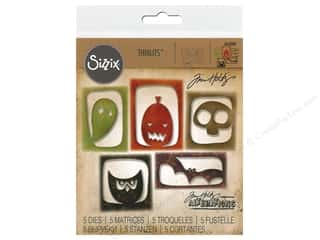 Sizzix Tim Holtz Thinlits Die Set 5 pc. Halloween Hangouts