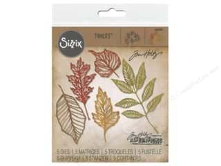 Tim Holtz Metallic Mixative: Sizzix Dies Tim Holtz Thinlits Skeleton Leaves
