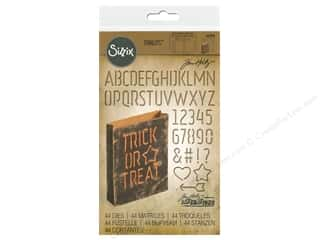 Sizzix Tim Holtz Thinlits Die Set 44 pc. Treat Bags