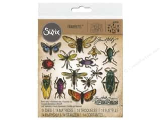 Sizzix Tim Holtz Framelits Die Set 14 pc. Entomology