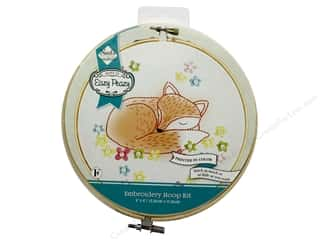 "Needle Creations Kit Embroidery Hoop 6"" Fox"