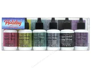 scrapbooking & paper crafts: Contact Crafts Ken Oliver Liquid Metal Set .5 oz Holiday