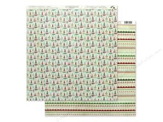scrapbooking & paper crafts: Authentique Collection Jingle Paper 12 in. x 12 in. Two (25 pieces)