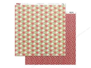 scrapbooking & paper crafts: Authentique Collection Jingle Paper 12 in. x 12 in. Three (25 pieces)
