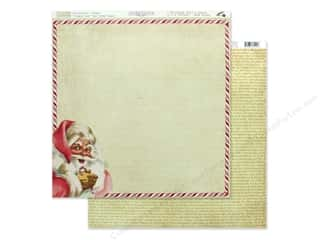 scrapbooking & paper crafts: Authentique Collection Jingle Paper 12 in. x 12 in. One (25 pieces)