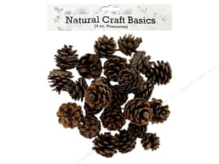 Sierra Pacific Crafts Pinecones Small Natural 4 oz