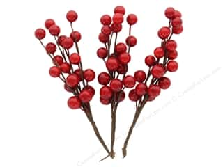 resin: Sierra Pacific Crafts Spray Berries Red