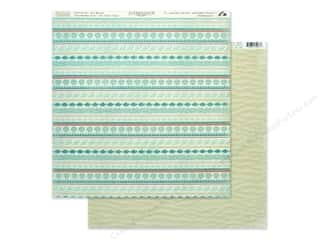 Authentique Collection Sea Maiden Paper 12 in. x 12 in. Four (25 pieces)