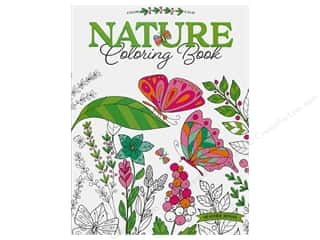books & patterns: Leisure Arts Nature Coloring Book