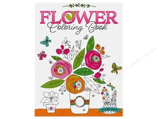 books & patterns: Leisure Arts Flower Coloring Book