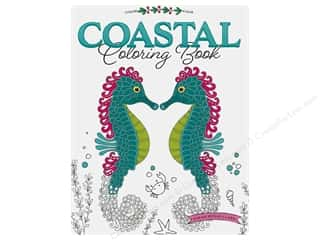 books & patterns: Leisure Arts Coastal Coloring Book