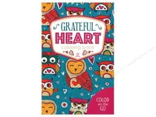 books & patterns: Leisure Arts Grateful Heart Coloring Book