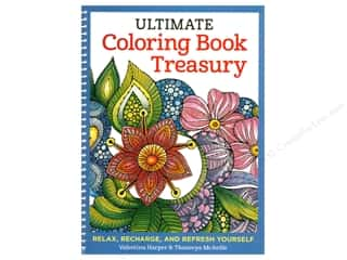 books & patterns: Design Originals Ultimate Coloring Book Treasury