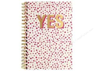 craft & hobbies: American Crafts Book Journal Spiral 7 in. x 10 in. Dots YES