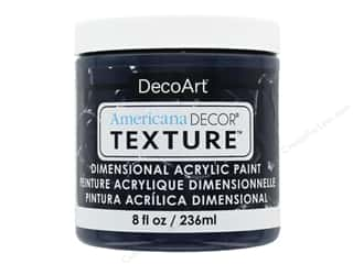 craft & hobbies: DecoArt Americana Decor Texture Acrylic Navy 8 oz