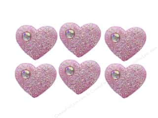 craft & hobbies: Jesse James Embellishments Candy Hearts