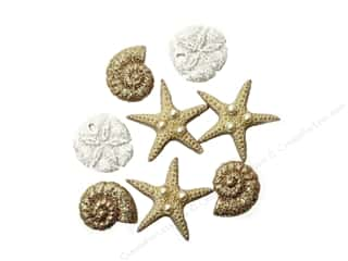craft & hobbies: Jesse James Embellishments Glitter Beach