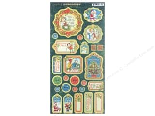 Graphic 45 Collection Christmas Magic Chipboard