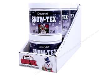 craft & hobbies: DecoArt Assortment POP Snow-Tex Jumbo 16oz 6pc