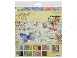 Graphic 45 Collection Flutter Collection Pack 12 in. x 12 in.