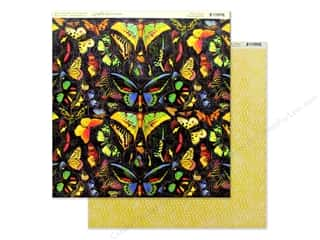 Graphic 45 Collection Flutter Paper 12 in. x 12 in. Vivacious (25 pieces)