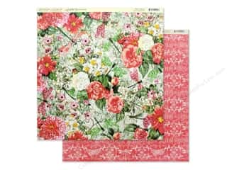 scrapbooking & paper crafts: Graphic 45 Collection Flutter Paper 12 in. x 12 in. Glorious (25 pieces)