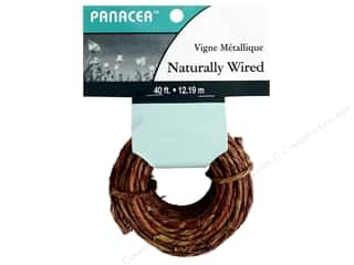 floral & garden: Panacea Wire Naturally 40 ft