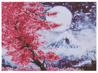 craft & hobbies: Diamond Dotz Intermediate Kit - Cherry Blossom Mountain