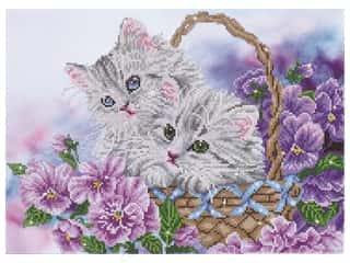 craft & hobbies: Diamond Dotz Intermediate Kit - Kitty Basket