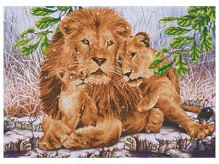 craft & hobbies: Diamond Dotz Advanced Kit - Lion Family