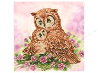 craft & hobbies: Diamond Dotz Intermediate Kit - Mother & Baby Owl