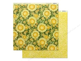 Graphic 45 Collection Garden Goddess Paper 12 in. x 12 in. Sunlit Petals (25 pieces)