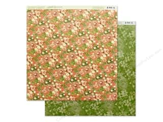Graphic 45 Collection Garden Goddess Paper 12 in. x 12 in. Field Of Flowers (25 pieces)