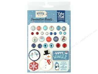 scrapbooking & paper crafts: Echo Park Collection Celebrate Winter Deco Brads