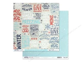 Echo Park Collection Celebrate Winter Paper 12 in. x 12 in. Winter Season (25 pieces)
