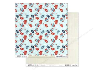 Echo Park Collection Celebrate Winter Paper 12 in. x 12 in. Cozy Mittens (25 pieces)